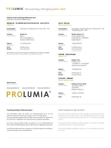 Page 4 - Prolumia Catalogus 2018/2019